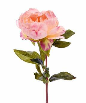Kunstbloem Pioen roze 55 cm
