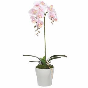 Orchidee kunst roze 53 cm