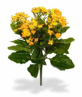 Kunstplant Kalanchoa oranje 30 cm