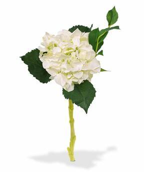 Kunsttak Hortensia wit 38 cm