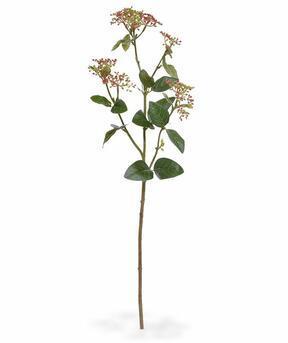 Kunsttak Viburnum laurier rood 81 cm