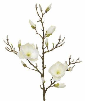 Kunsttak Magnolia creme 100 cm