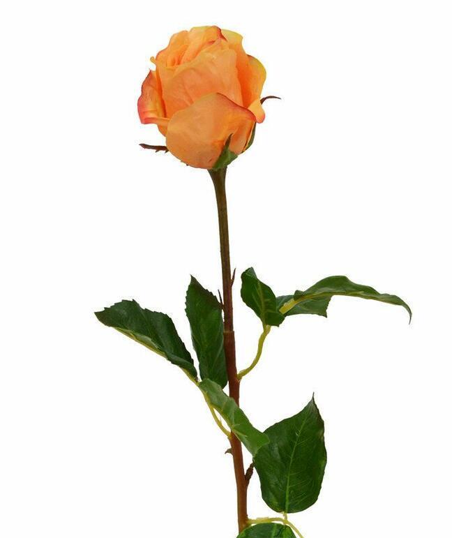 Kunsttak Roos oranje 52 cm