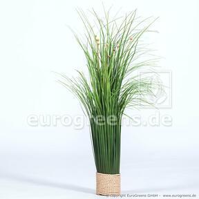 Kunstbloeiende bundel gras 55 cm