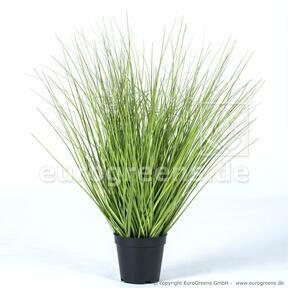 Kunstbundel gras in bloempot 65 cm