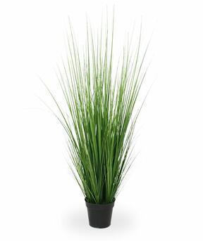 Kunstbundel gras in bloempot 100 cm