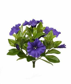 Kunstplant Petunia paars 25 cm