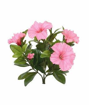 Kunstplant Petunia roze 25 cm