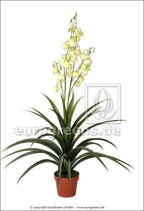 Kunstplant Yucca mooi 125 cm